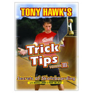 Tony Hawk's Trick Tips Vol 3: Secrets Of Skateboarding On DVD - XX632093