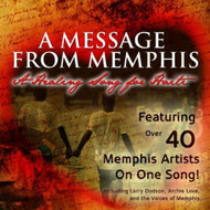 Healing Song For Haiti By Message From Memphis On Audio CD Pop - E503761