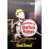 Adventures Of Sherlock Holmes Volume 2 Slim Case On DVD With Ronald - DD598861