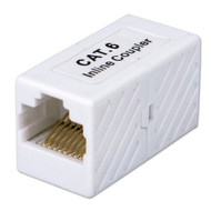 QVS C6C45FF CAT6 Gigabit RJ45 Female To Female Coupler - DD608422