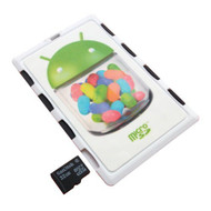 DiMeCard MICRO8 Microsd Memory Card Holder White Android Jelly Bean - EE542164