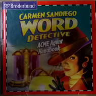 Carmen Sandiego Word Detective ACME Agent Handbook Software - EE565857