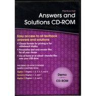 Answers And Solutions Cd-Rom Demo Software Mathematics - EE569701