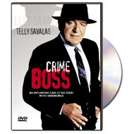 Crime Boss On DVD With Telly Savalas Mystery - EE583735