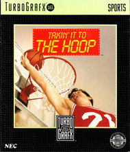 Takin' It To The Hoop For Turbo Grafx 16 Vintage Basketball - EE591325