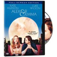 Alex & Emma Full Screen Edition On DVD With Luke Wilson Romance - XX637462