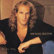 One Thing By Bolton Michael On Audio CD Album Pop 1993 - DD575649