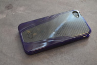 iSkin Solo Vu Purple Case For iPhone 4G - EE323345