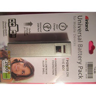 Inland 2600 Mah Power Bank Battery Charger For Mobile Devices Silver - EE545965