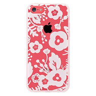 Agent 18 iPhone 5C Shockslim White Flowers Case Cover Multi-Color - EE554107