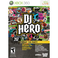 DJ Hero Stand Alone Software For Xbox 360 Music - EE561145