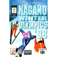 Nagano Winter Olympics 98 Nintendo 64 Only No Game Pamphlet Only No - EE591862