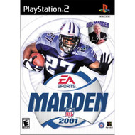 Madden NFL 2001 For PlayStation 2 PS2 Football - EE600416