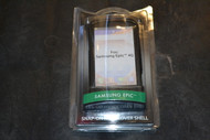 Snap On Hardcover Case for Samsung Epic Shell - Black - EE214622