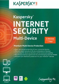 Kaspersky Internet Security Multi-Device 5 Devices Software - EE566457