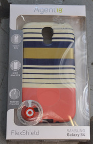 Agent 18 FlexShield Preppy Stripes For Samsung Galaxy S4 Case Cover - DD568863