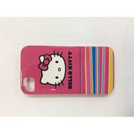 Hello Kitty Hardshell Case For iPhone 4/4S White/Red Cover Fitted - EE542157