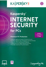 Kaspersky Internet Security For PC 2014 - 3 PCs Software - EE566462