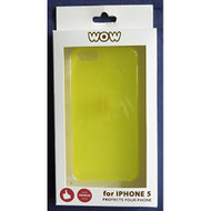 WoW For iPhone 5 5S SE Yellow Case Cover Fitted - EE558700