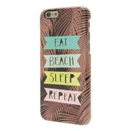 End Scene iPhone 6BROWN With Eat Beach Sleep Repeat Case Cover - DD602575