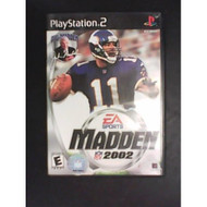 Madden NFL 2002 For PlayStation 2 PS2 Football - EE550140