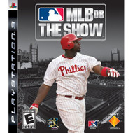 MLB 08 The Show For PlayStation 3 With Manual And Case PS3 Baseball - EE643907