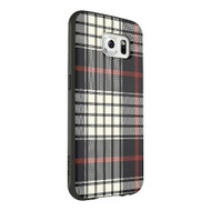 Belkin Mixit Case Galaxy S6 Black White Red Flannel Cover Multi-Color - DD608285