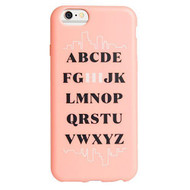 AGENT18 iPhone 6 Flexshield Alphabet Hi Case Cover - EE538885