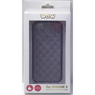 WoW For iPhone 5 5S SE Dark Grey Gray Case Cover Fitted - EE558620