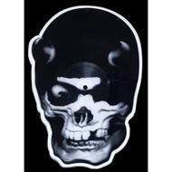 Skull Shaped Picture Disc On Vinyl Record By Balzac - EE549074