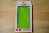 WoW For iPhone 5 5S SE Green X Case Cover - EE563068