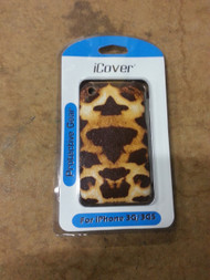 iCover Leopard Print iPhone 3G 3GS Case Cover Multi-Color Fitted - EE432879