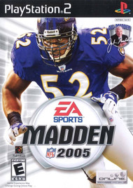 Madden NFL 2005 PS2 Football Sports For PlayStation 2 - EE467423
