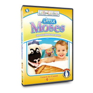 Little Leaders: Little Moses Bible Story On DVD - EE453987