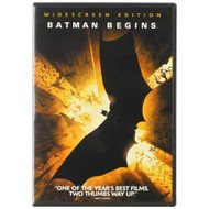 Batman Begins Single-Disc Widescreen Edition On DVD With Christian - EE563986