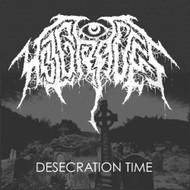 Desecration Time On Vinyl Record by Hot Graves - EE548843