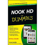 Nook HD For Dummies Portable Edition By Sandler Corey - EE495985
