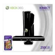 Xbox 360 250GB Console With Kinect Video Game Systems - ZZ556355