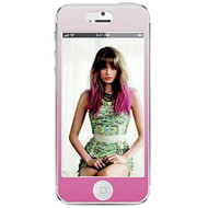 Agent 18 Decorative Screen Protector For iPhone 5 5S 5C SE Pink Ombre - EE562724