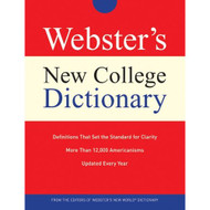 Webster's New College Dictionary With Additional Reference Material - EE495785