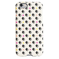 AGENT18 iPhone 6 / iPhone 6S Slimshield Dots Over Fabric Case Cover - EE558618