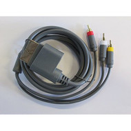 RCA Composite AV Cable For Microsoft By Mars Devices A/V For Xbox 360 - ZZZ99004