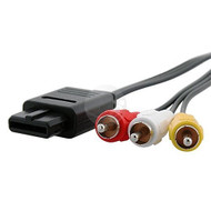 For Nintendo 64 N64 GameCube Composite AV Cable A/V GC - ZZ528334