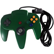Replacement Nintendo 64 Classic Wired Controller Green Gamepad For N64 - ZZ522452