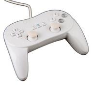 White Classic Stylish Remote Controller Pro For Wii NES Classic - ZZ529105