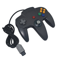 Generic Wired Game Controller For Nintendo Black For N64 Gamepad - ZZ633643