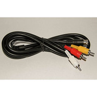 Composite AV Cable For Sega Genesis 2 And 3 By Mars Devices - ZZZ99053
