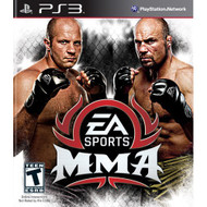 EA Sports Mma For PlayStation 3 PS3 Wrestling With Manual and Case - EE645324