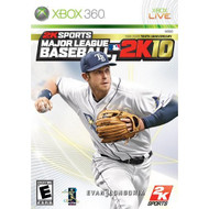 MLB 2K10 For Xbox 360 Baseball With Manual and Case - DD647322