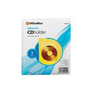 OfficeMax Adhesive CD / DVD Holders OM01950 - DD648610